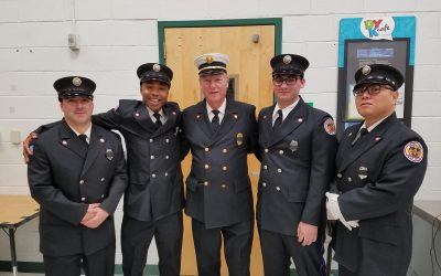 Congratulations to Four Kingston Members on Completing Fire Fighter I