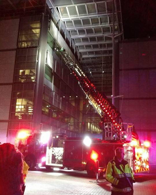 1st Alarm Fire in Princeton University's Frick Chemistry Lab