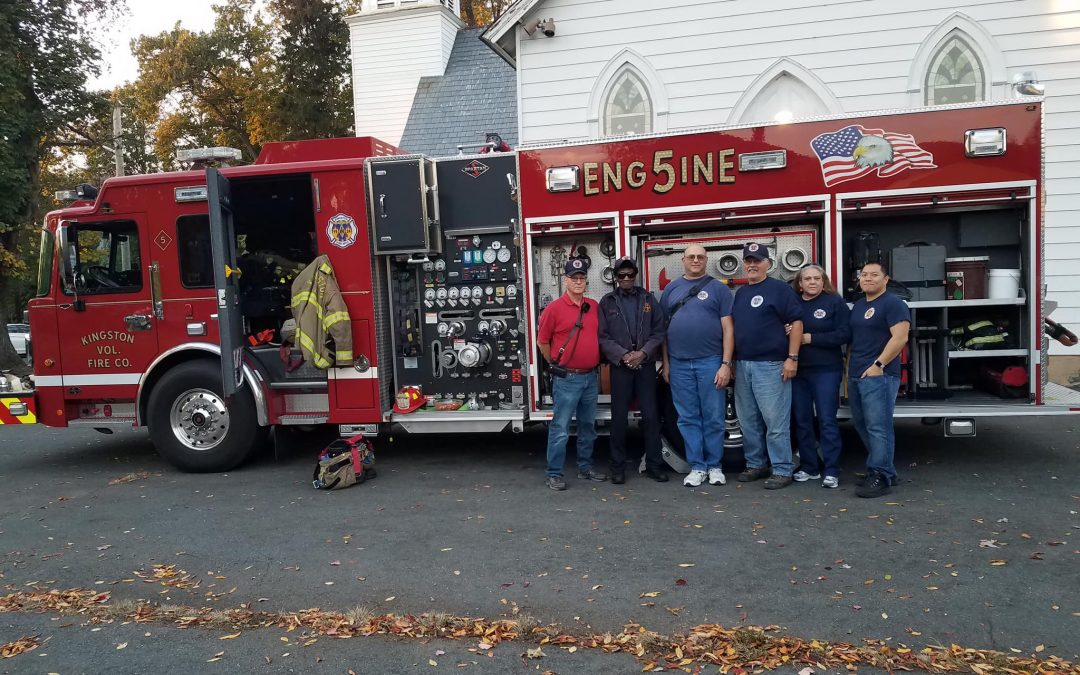 """Kingston Volunteer Fire Company #1 Participates in """"Trunk or Treat"""""""