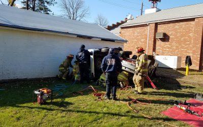 Kingston Volunteer Fire Company #1 Certifies Members in Motor Vehicle Extrication