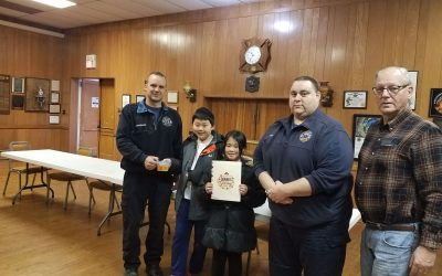 Ying Hua Students Treat Home Cooking for Thanksgiving 2018