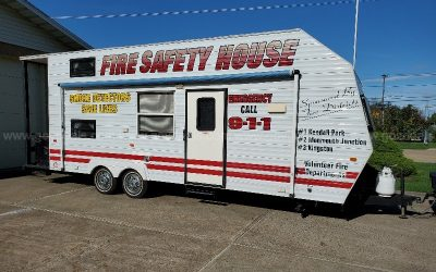 For Sale! Fire Safety House Trailer