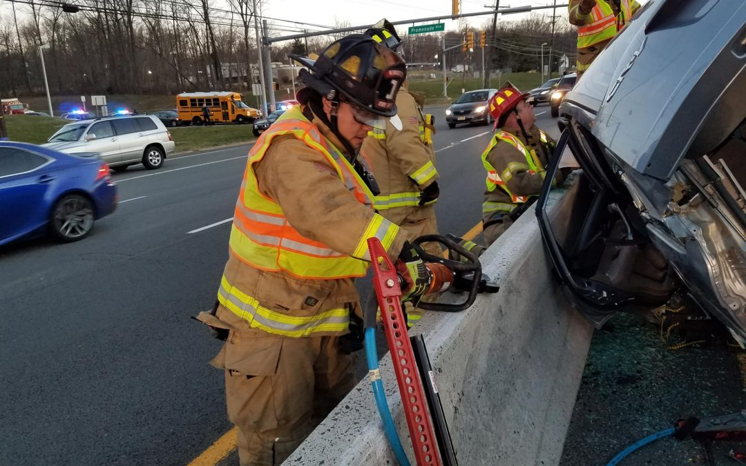 Motor Vehicle Entrapment Victim Rescued on U.S. 1 N