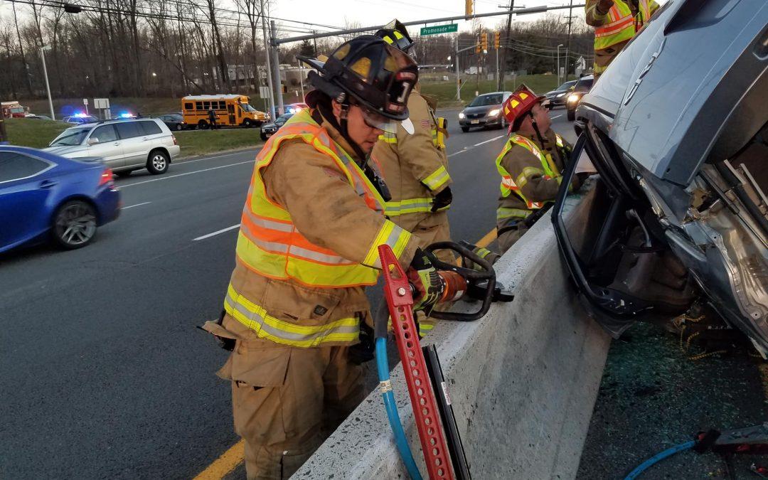 Motor Vehicle Entrapment Victim Rescued on U.S. 1 N