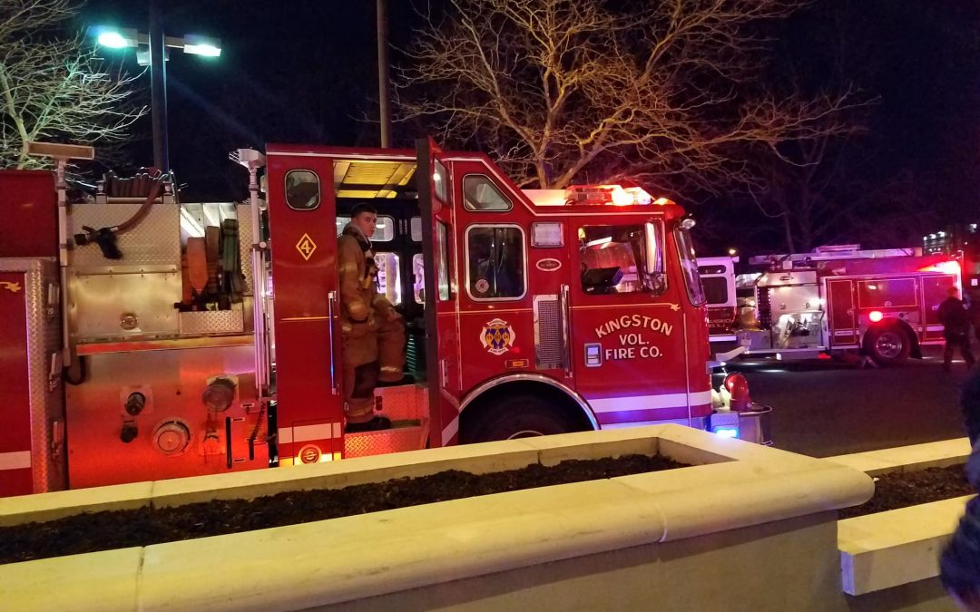 Reported Fire at Doubletree Hotel