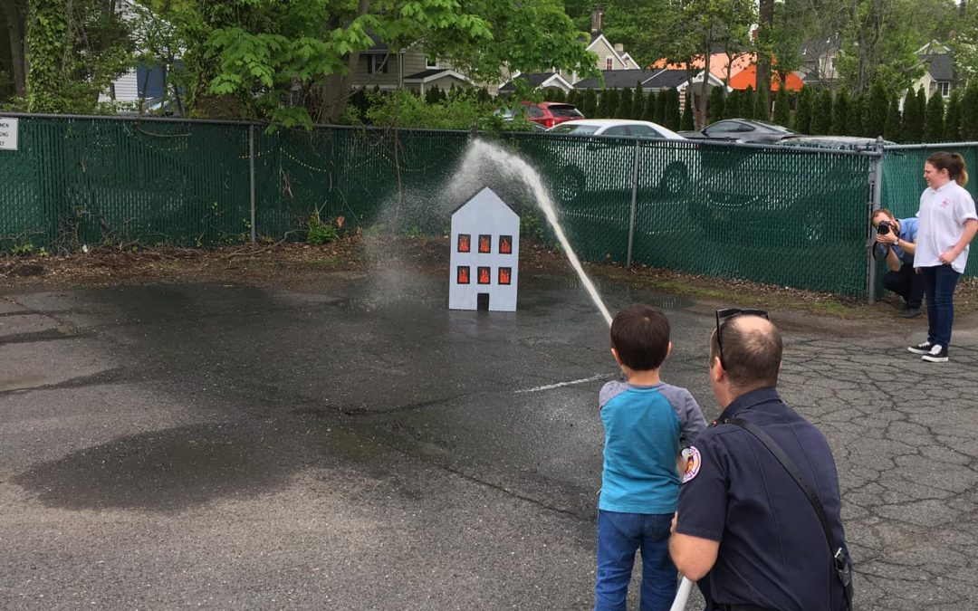 Host Your Children's Birthday Party at a Fire Station!