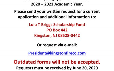 Lulu T. Briggs Scholarship Fund is Now Available!