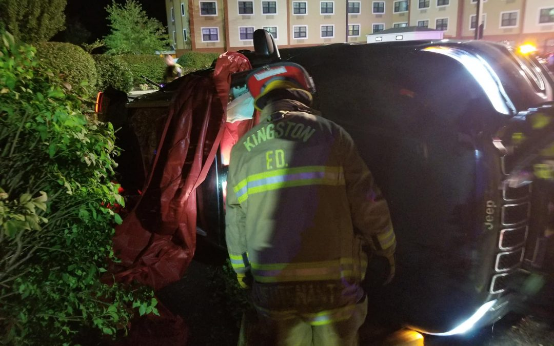 Rollover w/ Entrapment on US-1 North Near Extended Stay Hotel