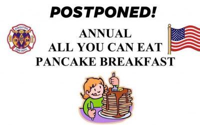 2020 Annual Pancake Breakfast Postponed