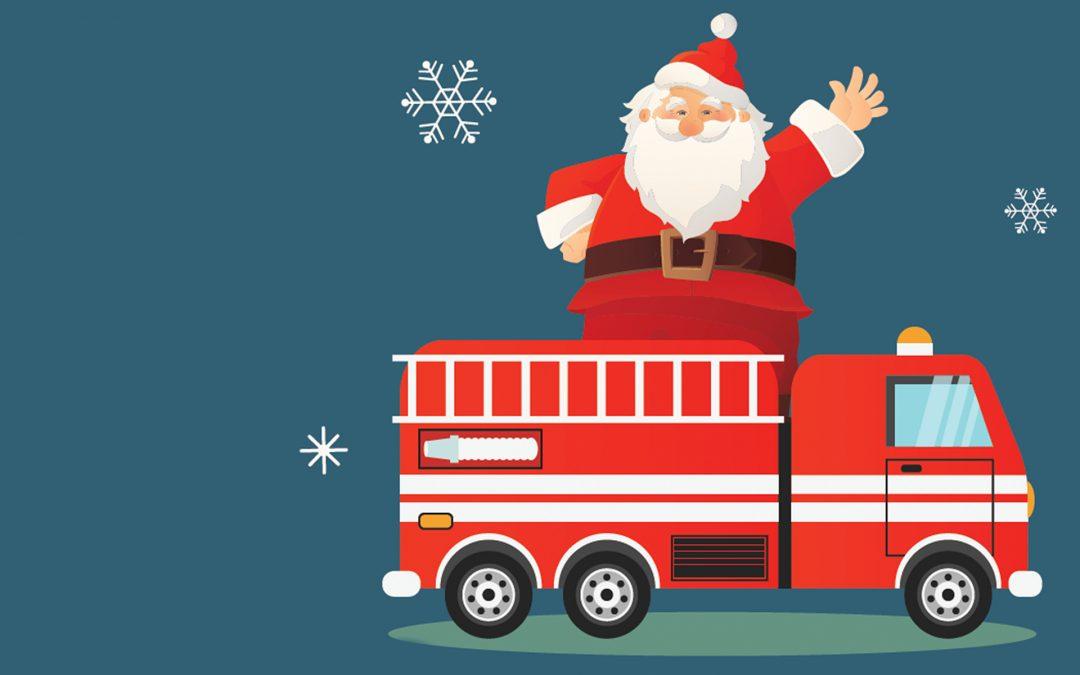 Drive-thru w/ Santa & Wreath Stroll Fundraiser